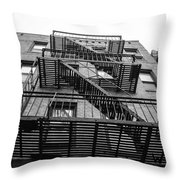 Escape Throw Pillow