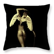 Ethereal Dance Throw Pillow