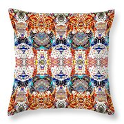 Imperial Past Throw Pillow