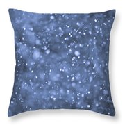 Evening Snow Throw Pillow