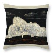 Evening Storm Throw Pillow