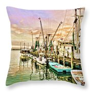 Everett Seafood Throw Pillow