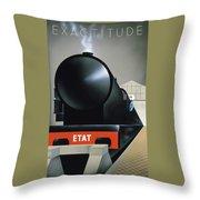 Exactitude Throw Pillow