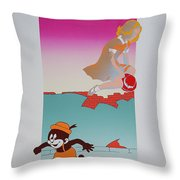 Exile On Main Street Throw Pillow