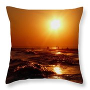 Extreme Blazing Sun Throw Pillow