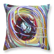 Eye Stablished Throw Pillow