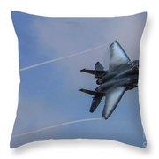 F-15 Strike Eagle Throw Pillow