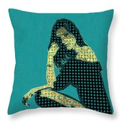 Fading Memories - The Golden Days No.2 Throw Pillow