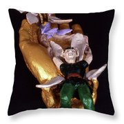 Faery Siblings Throw Pillow