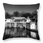 Fairmount Water Works - Philadelpha Throw Pillow