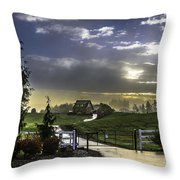 Fairy Tale Throw Pillow by Blanca Braun
