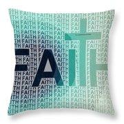 Faith - The Lord God Of Israel Throw Pillow