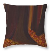 Fall Forest Floor By Jrr Throw Pillow