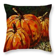 Fall Whisper Throw Pillow by Vickie Warner