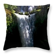 Falls Creek Falls Throw Pillow