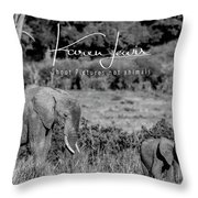 Family  Throw Pillow