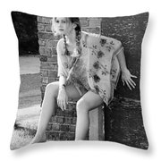 Famous Celebrities Throw Pillow