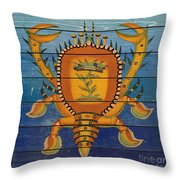 Fanciful Sea Creatures-jp3823 Throw Pillow