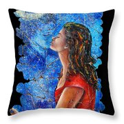 Farewell 2 Throw Pillow