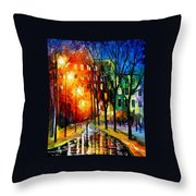 Farewell To Autumn Throw Pillow