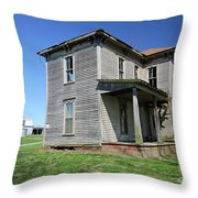 Farmed Out Throw Pillow