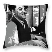 Fats Waller Stormy Weather Set 1943-2015 Throw Pillow