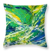 Feeling Of Summer Throw Pillow