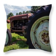 Ferguson Tractor  Throw Pillow