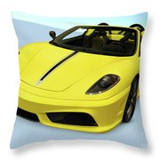 Ferrari 16m Scuderia Spider Throw Pillow