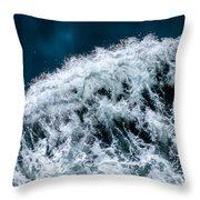 Ferry Waves Throw Pillow