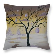 Field Of Potentials Throw Pillow