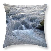 Fightingtown Creek, Georgia Throw Pillow