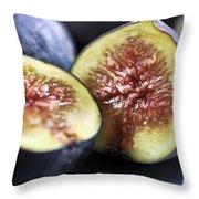 Figs Throw Pillow by Elena Elisseeva