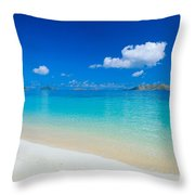 Fiji, Mana Island Throw Pillow