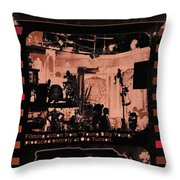 Film Homage Collage Young Billy Young 1969 Old Tucson Arizona 1968-2013 Throw Pillow