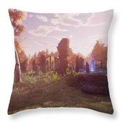 Final Fantasy Xiv A Realm Reborn Throw Pillow