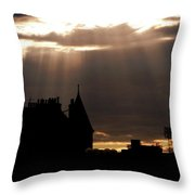 Fingers Of God Throw Pillow