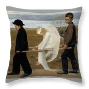 Finnish Throw Pillow