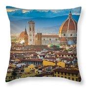 Firenze Duomo Throw Pillow