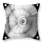 First Neutrino Interaction, Bubble Throw Pillow
