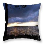 Fisherman's Paradise Throw Pillow