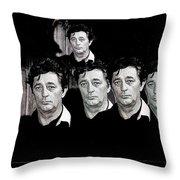 Five Robert Mitchum's Young Billy Young Set Old Tucson Arizona 1968-2012 Throw Pillow