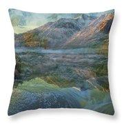 Flash Flood Throw Pillow