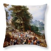 Flemish Fair Throw Pillow