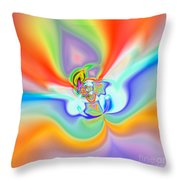 Flexibility 39c1 Throw Pillow