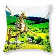 Flight Lovers  Throw Pillow