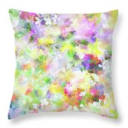Floral Art Lviii Throw Pillow