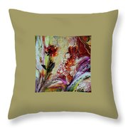 Floral  Miracle Throw Pillow