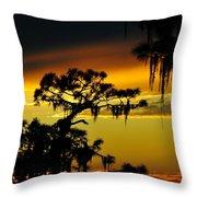 Central Florida Sunset Throw Pillow