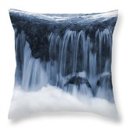 Flow II Throw Pillow